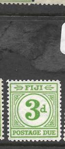 FIJI ISLANDS (PP2501B)  POSTAGE DUE 3 D  SG D13  MNH