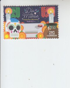 2019 Mexico Day of the Dead (Scott NA) MNH