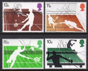 Great Britain 802-805 MNH VF