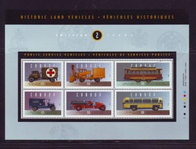 Canada Sc 1527 1994 Capex old vehicles stamp souvenir sheet mint NH