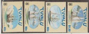 Tuvalu Scott #768-771 Stamps - Mint NH Set
