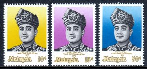Malaysia - Scott #141-143 - MNH - SCV $3.40
