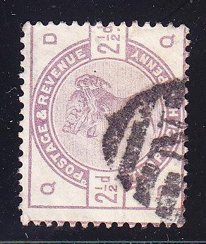 Great Britain 1884 2 1/2d Queen Victoria   F/VF/used/(o)
