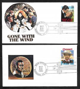USA 2445-8 Classic Films First Day Cover FDC (z4)