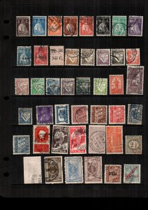 Portugal  43  diff  used and mint   lot collection