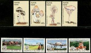 NORFOLK IS. Sc#306-322 1983 Year Complete Four Sets OG Mint NH