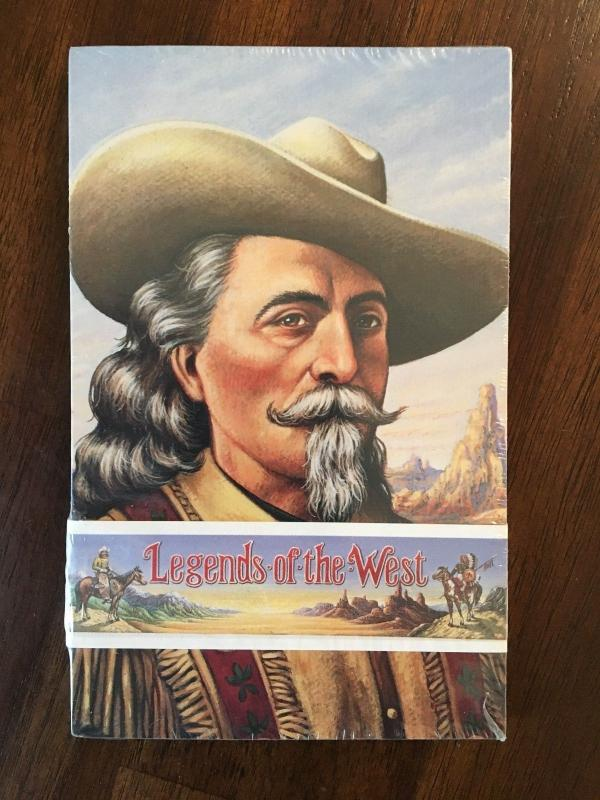 USPS UX178-UX197 Set Of 20 Legends of the West POSTAL CARDS Sealed