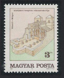 Hungary Veszto Church Excavation 1v SG#3904