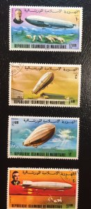 Mauritania, Malagasy and Niger Graf Zeppelin Issues