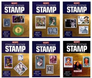 Scott 2017 Standard Postage Stamp Catalogues. Volume 1-6 PDF FREE SHIPPING!!!
