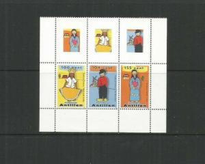 NETHERLAND ANTILLES 2008 CLOTHING SCOTT 1352 MNH WITH LABELS