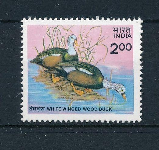 [38174] India 1985 Birds Vögel Oiseaux Ucelli  Ducks MNH