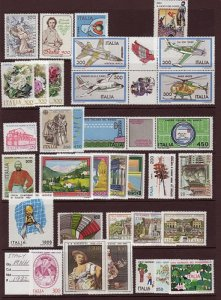ITALY LOT# DIFF.3 -MNH
