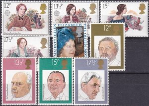 Great Britain #915-23 MNH CV $3.05 (Z4366)