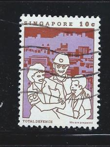 Singapore #448d Used Total Defense