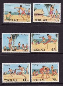 Tokelau-Sc#144-49-unused NH set-Olympic Sports-1987-