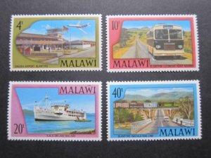 Malawi 1977 Sc 303-306 set MNH