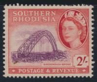 Southern Rhodesia  SG 87 SC# 90  Mint  Hinged  Birchenough Bridge