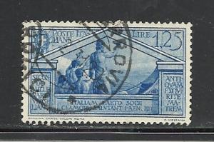Italy #254 used Scott cv $12.00