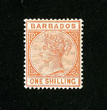 Barbados Stamps # 66 F-VF OG LH Scott Value $32.50