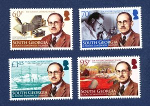 SOUTH GEORGIA - # 422-425 - MNH - Sir Alister Hardy  - 2011