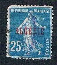 Algeria 13 Used France overprint (BP824)