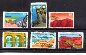 Australia 641-646 used