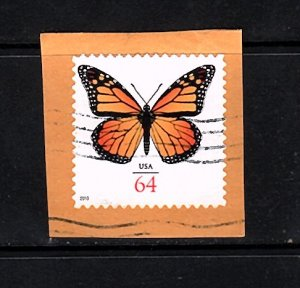 USA   Monarch Butterfly  used 64 cent