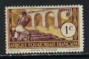 FRENCH EQUATORIAL AFRICA 33 MNG N865-9