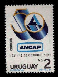 Uruguay Scott 1114 MNH** ANCAP stamp