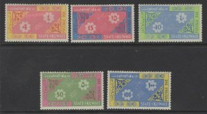 KUWAIT SGD276/80 1965 POSTAGE DUES MNH