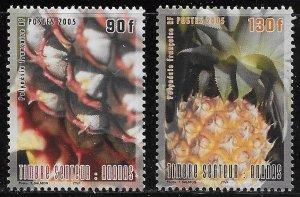 French Polynesia Scott #'s 904 - 905 MNH
