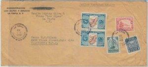 79099 - GUATEMALA -  POSTAL HISTORY -  COVER from LA TINTA to USA  1949