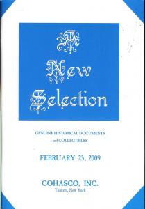 A New Selection - Genuine Historical Documents and Collec...