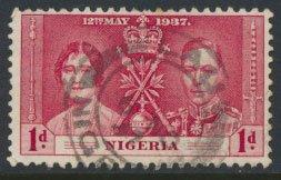 Nigeria  SG 46  SC# 50  Used Coronation 1937 please see scan