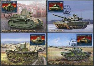 Russia. 2020. 100th Anniversary of Russian Tank Building. Perm (Mint) Set