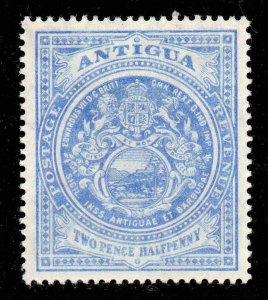 Antigua 1908 EDVII 2½d ultramarine wmk MCCA SG 46 mint