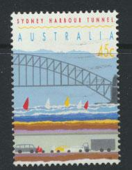 Australia SG 1376  Used  perf 14½ - Harbour Tunnel