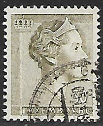 Luxembourg # 364 - Grand Duchesse Charlotte - 30ct - used...(KlGr)