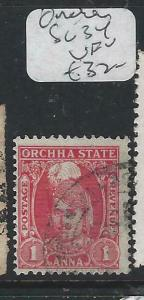INDIA NATIVE STATE ORCHHA (PP0804B) SG 34   VFU
