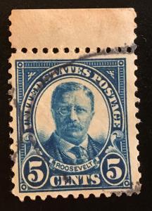 557 1922 Americans Series, 11x11 perf., Circ. single, Vic's Stamp Stash