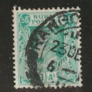 Burma Scott 23 used stamp