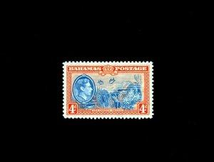 BAHAMAS - 1938 - KG VI - SEA GARDENS - FISH - NASSAU - # 106 - MINT MNH SINGLE!