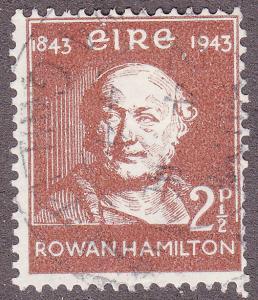 Ireland 127 USED 1943 William Rowan Hamilton