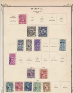 Guatemala Stamps  Ref 15520