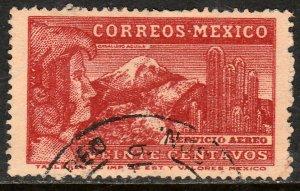 MEXICO C177A 20c 1934 Definitive Wmk Gobierno..279 Used F-VF. (938)