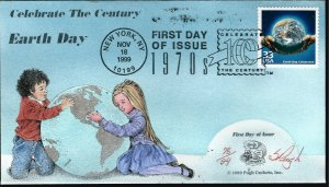 Beautiful Pugh Designed 3189a FDC Celebrate Earth Days...Only 94 created