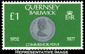 Guernsey Scott 202 Mint never hinged.