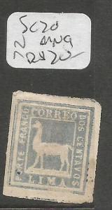Peru SC 20 MNG (9csx)