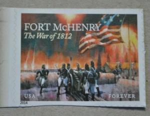 Fort McHenry US stamp Scott #4921 Unused, Mint never hinged